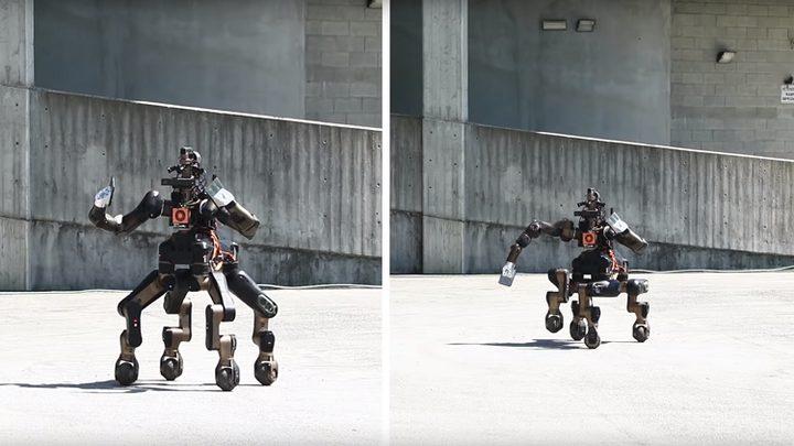 روبوت فريد لإنقاذ الناس أثناء الكوارث