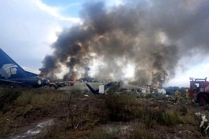 تحطم طائرة في المكسيك ونجاة جميع الركاب