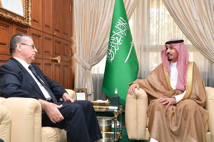السفير الأغا يثمن دور السعودية على ما تقدمه للقضية