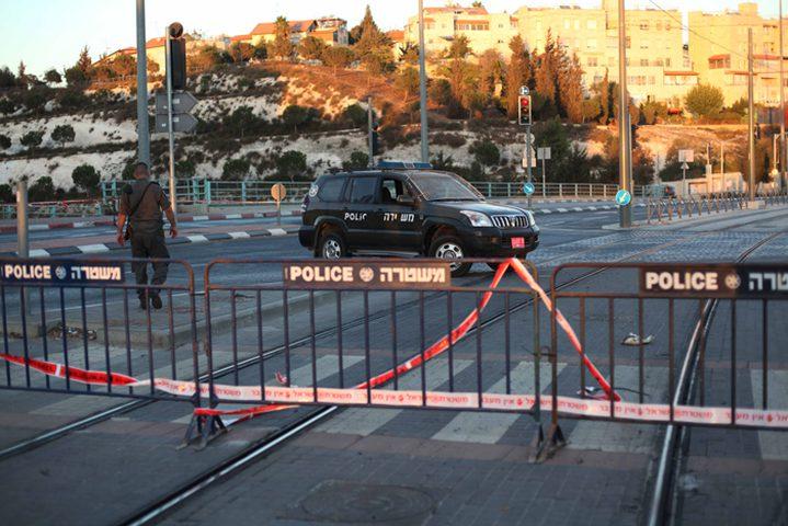 الاحتلال يغلق شوارع في القدس