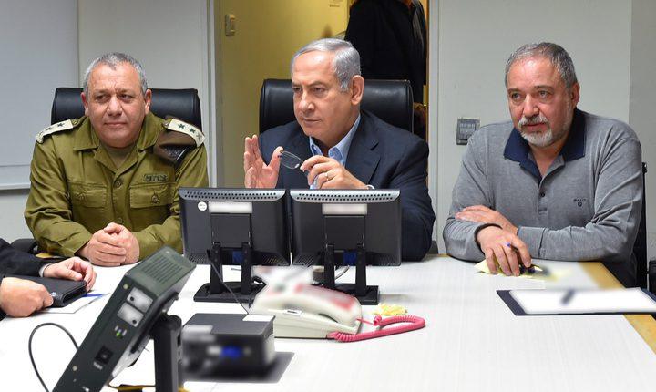 """""""الكابينيت"""" يجتمع الاحد لمناقشة وضع غزة"""