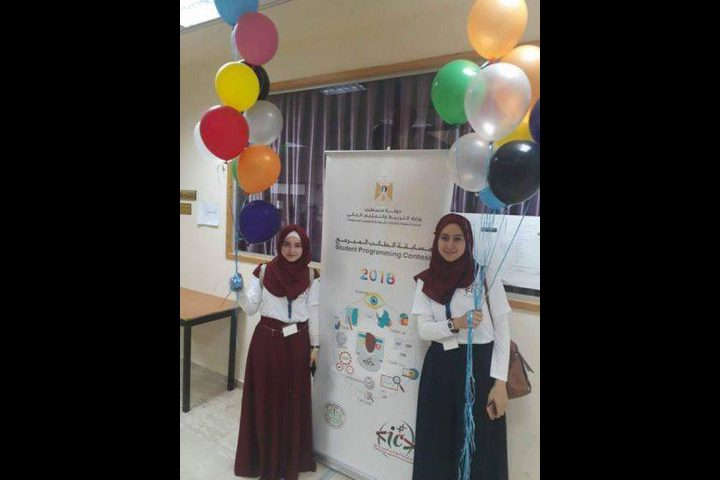نابلس تحصد المركز الأول في مسابقة الطالب المبرمج