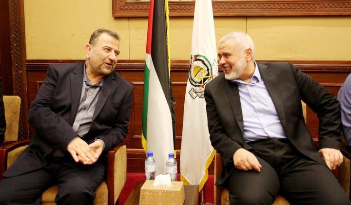 وفد حماس من الخارج يصل غزة قادما من القاهرة