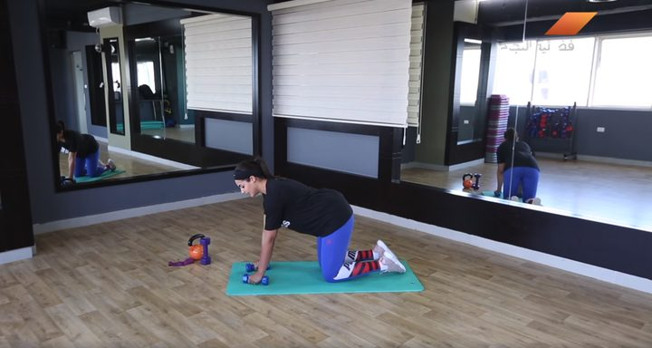 بالفيديو.. تمارين رياضية خاصة لتقوية عضلات الظهر
