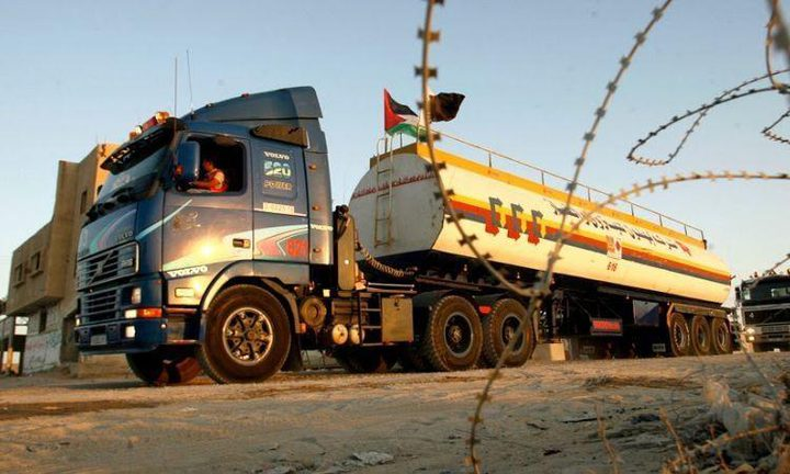 الاحتلال يمنع ضخ المحروقات إلى غزة حتى إشعار آخر