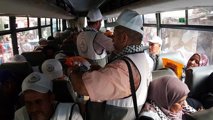 حجاج غزة يغادرون اليوم لأداء فريضة الحج
