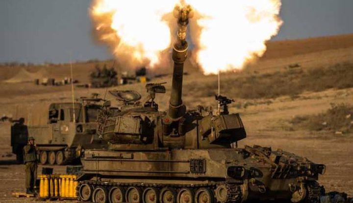 مدفعية الاحتلال تستهدف موقعا للمقاومة شرق رفح