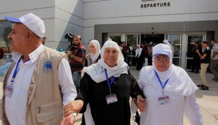 مغادرة الفوج الثاني من حجاج غزة عبر معبر رفح