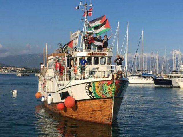 """الاحتلال بدأ بترحيل متضامني سفينة """"حرية"""""""