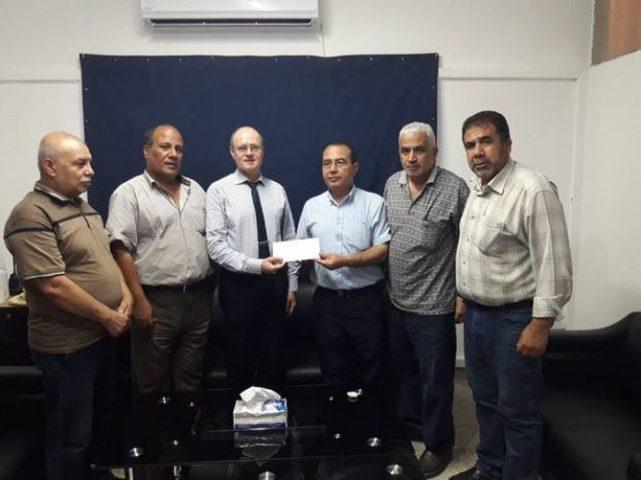 اللجان الشعبية لمخيمات غزة توجه مذكرة لملادينوف