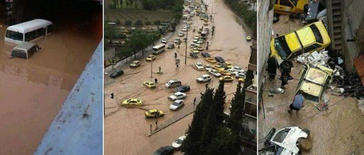 مصرع خمسة أشخاص بفعل سيول ضربت جنوبي الجزائر