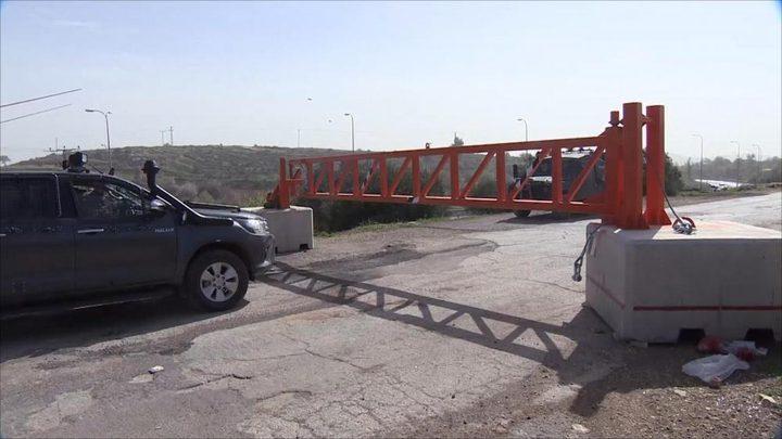 """أزمة خانقة بسبب إغلاق حاجز """"الكونتينر"""" في بيت لحم"""