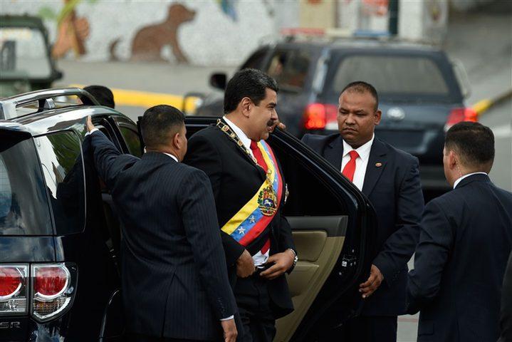 محاولة اغتيال فاشلة تستهدف الرئيس الفنزويلي