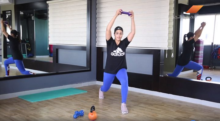 بالفيديو.. تمارين رياضية لشد عضلات الأقدام