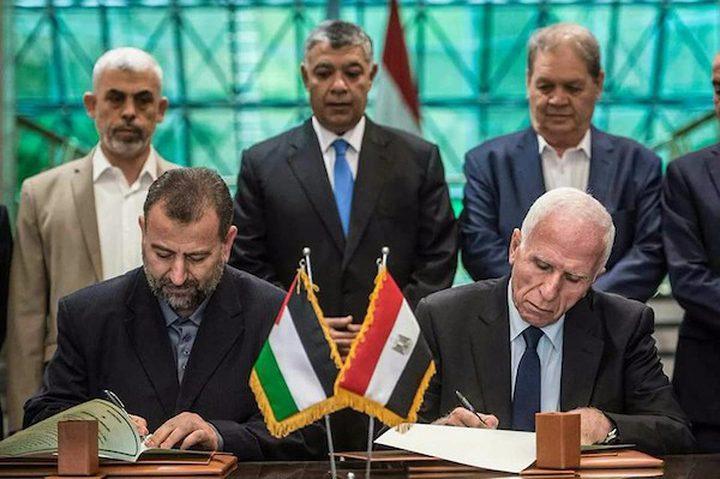 القاهرة:ورقة جديدة لحماس تتعلق بالمصالحة والتهدئة