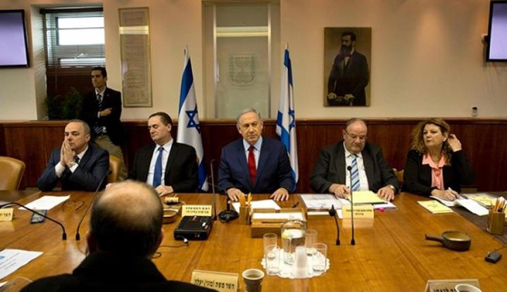 """انتهاء اجتماع """"الكابنيت"""" لبحث مقترح الهدنة مع حماس"""