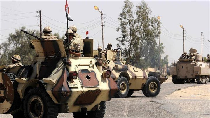 الجيش المصري يعلن مقتل 52 مسلحاً في سيناء