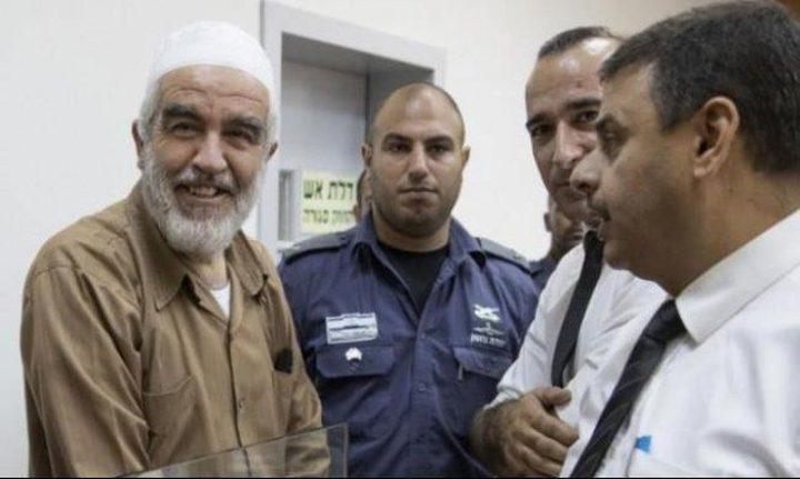 الاحتلال يناقش تمديد القيد الإلكتروني للشيخ صلاح