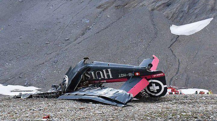 مصرع 20 شخصا بتحطم طائرة عسكرية في سويسرا