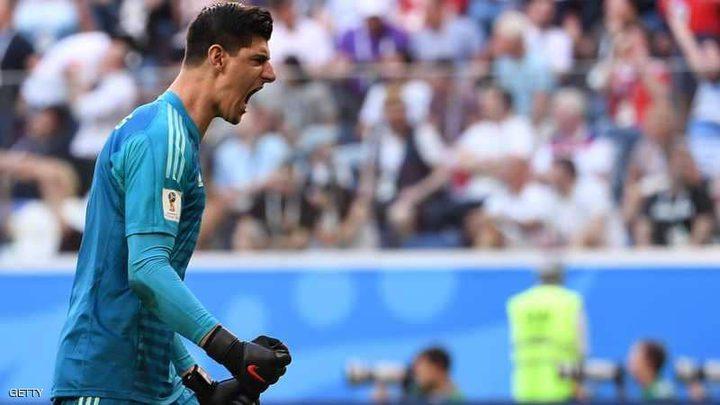 """كورتوا """"يحسم أمره"""" بخصوص الانتقال لريال مدريد"""