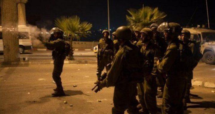 مواجهات مع الاحتلال في بلدة يعبد