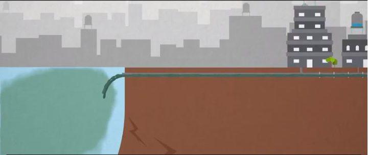 فيديو- محطة معالجة المياه العادمة شمال القطاع