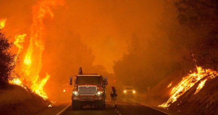 أكبر حرائق كاليفورنيا تلتهم الولاية الأمريكية