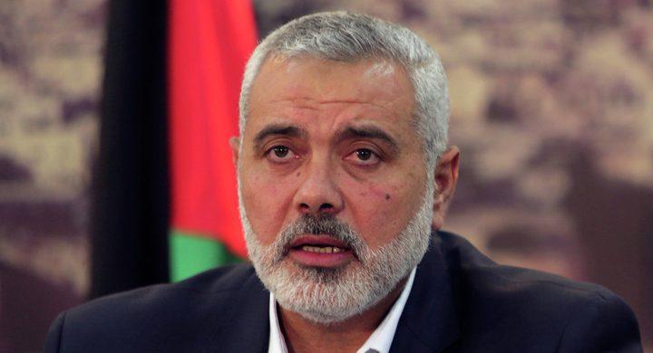 هنية: وفد حماس في غزة سيعود إلى القاهرة