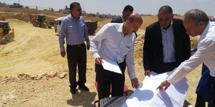 بدء بناء مستشفى الرئيس محمود عباس في حلحول