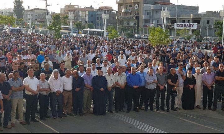 """تظاهرة مركزية في تل ابيب ضد """"قانون القومية"""""""