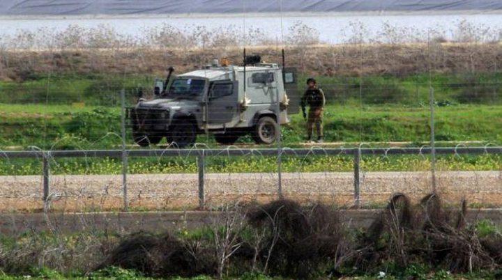 إطلاق النار تجاه المزارعين شرق غزة