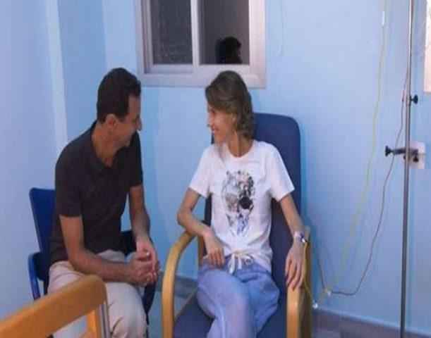 دمشق تعلن إصابة زوجة بشار الأسد بسرطان الثدي