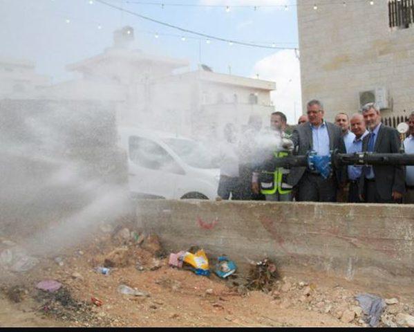 الوزير غنيم يفتتح شبكة مياه جلجليا ومحطة ضخ بيرزيت