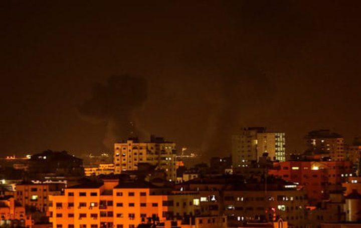 استشهاد امراة حامل وطفلتها في قصف اسرائيلي بغزة