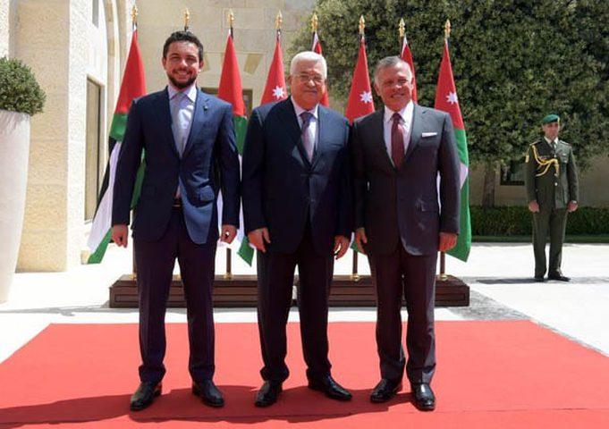 الرئيس يجتمع مع العاهل الأردني في عمان