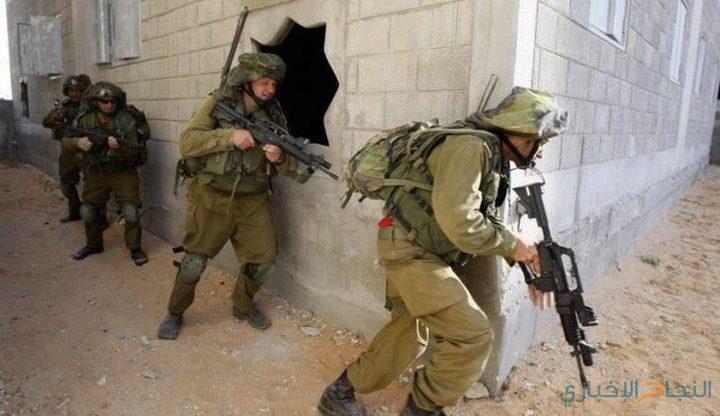 قوات الاحتلال تجري مناورات عسكرية شرق جنين