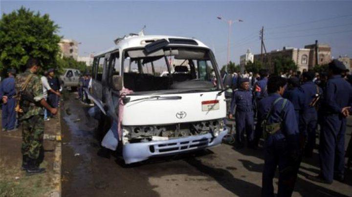 عشرات القتلى والجرحى في هجوم على حافلة