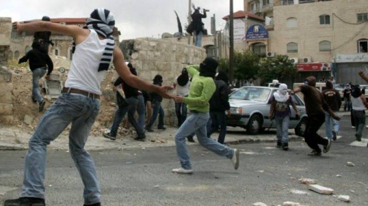 إصابة شاب خلال مواجهات مع قوات الاحتلال في تقوع