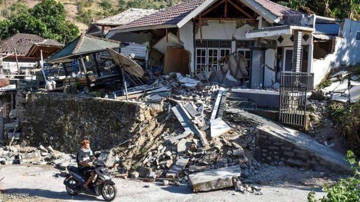 زلزال إندونيسيا الاخير غيّر معالم جزيرة لومبوك