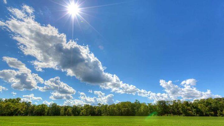 حالة الطقس :ارتفاع على درجات الحرارة