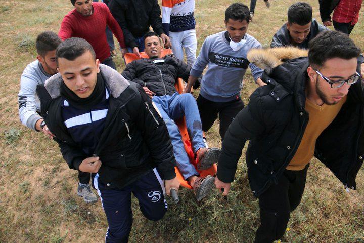 إصابة مواطنين برصاص الاحتلال شرق غزة