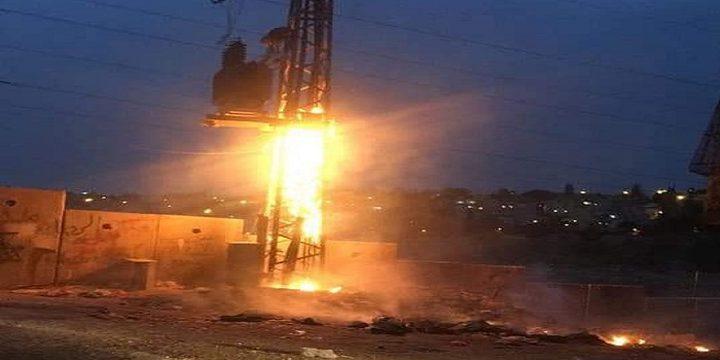 كهرباء القدس تناشد بعدم حرق النفايات قرب المحولات