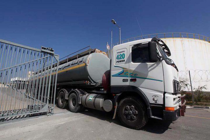 إدخال مواد إنشائية ووقود للمؤسسات الدولية بغزة
