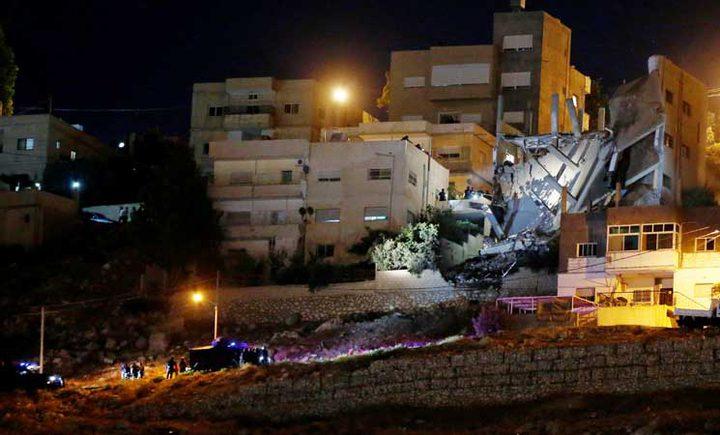 الأردن يؤكد أن انفجار الفحيص عمل إرهابي
