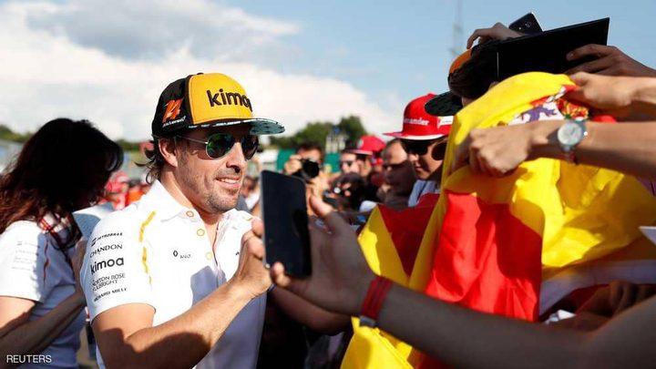 """فورمولا 1.. ألونسو """"يتوقف"""" ويترك الباب مفتوحا"""