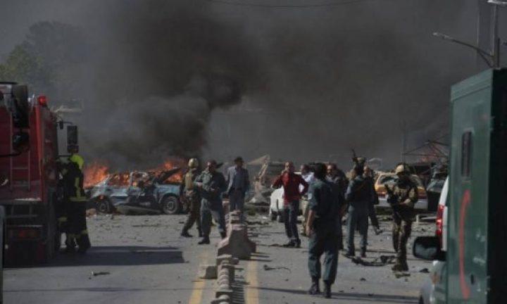 مقتل 14 وإصابة 18 آخرين في انفجار كابول