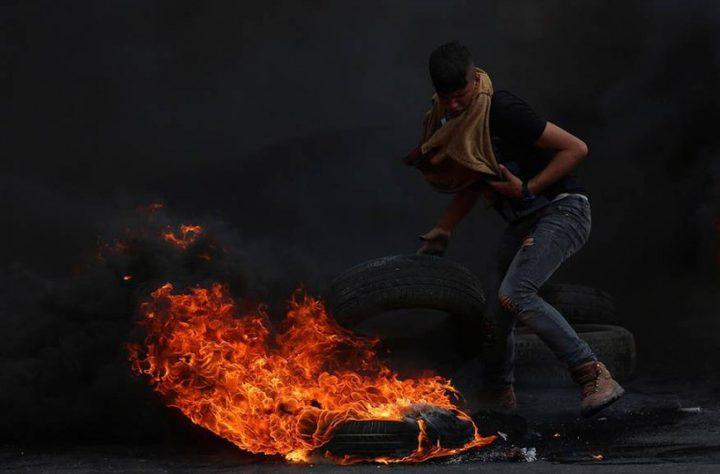 مواجهات مع الاحتلال وسط الخليل