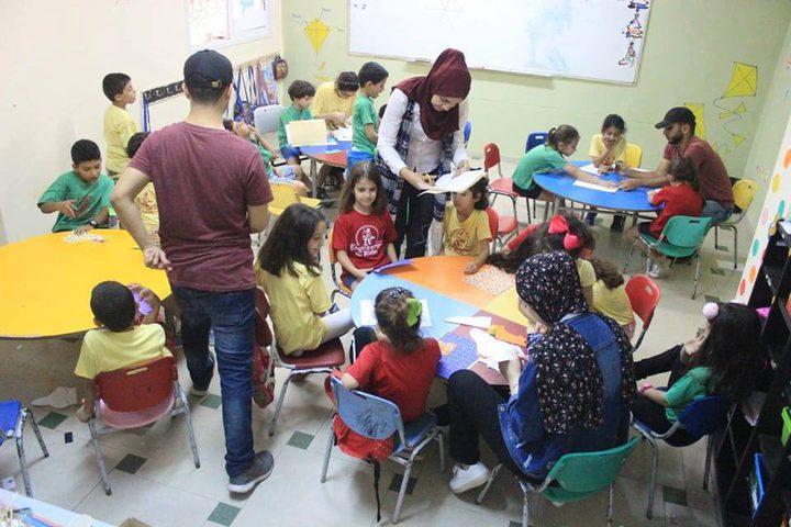 """""""الهندسة للصغار"""" أول برنامج هندسي لأطفال فلسطين"""