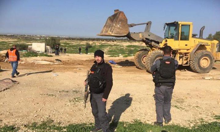 الاحتلال يهدم قرية العراقيب في النقب للمرة الـ132