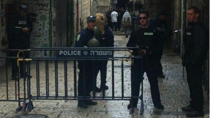 إصابة مجنّدة بعملية طعن في القدس واستشهاد المنفّذ